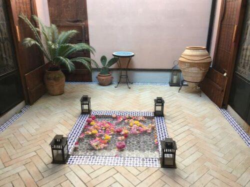 カフェリアド 中庭
